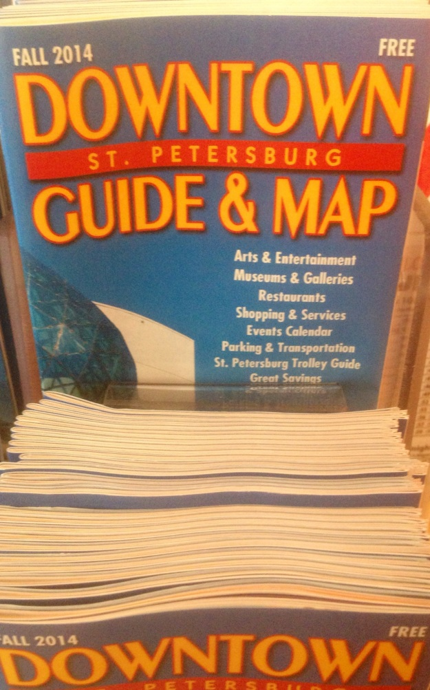 Visitor's Guides are often distributed in destination at a variety of locations that tourists visit.
